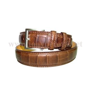 Кожаный ремень ART: 0826 Крокодил