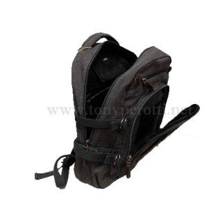 Брендовый холщёвый рюкзак 1025-Ctr