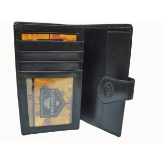 Кожаное портмоне два сложения АРТ:1464-A