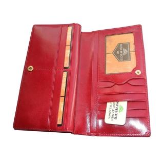 Кожаное портмоне АРТ:1902-I rosso