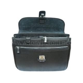 Кожаный портфель АРТ: 9076-40-Ct Tony Perotti