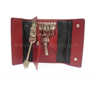 Кожаный ключник АРТ:5025-Cor Tony Perotti