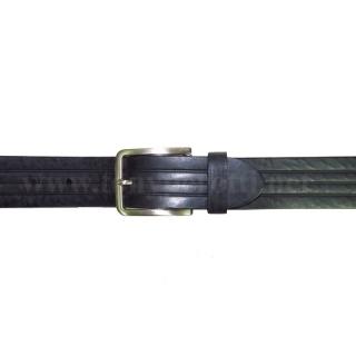 Кожаный ремень ART: 7001 с продольным тиснением