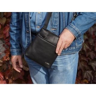 Мужская сумка на плечо 9551-Ct Италия