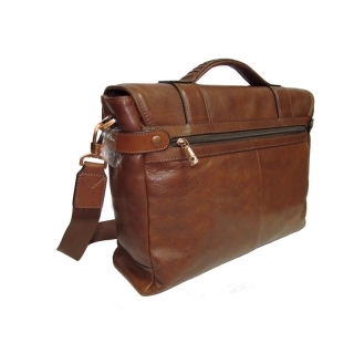 Мужской кожаный портфель АРТ: 9616-Vt Винтаж