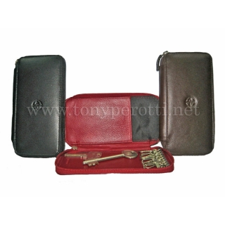 Кожаный ключник АРТ:5026-Cor Tony Perotti