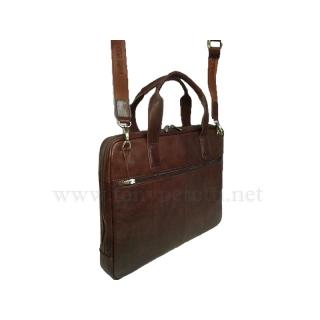Кожаная  деловая сумка 9952-Vs Италия