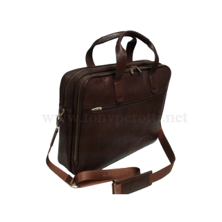 Кожаная  деловая сумка 9954-Vs Италия