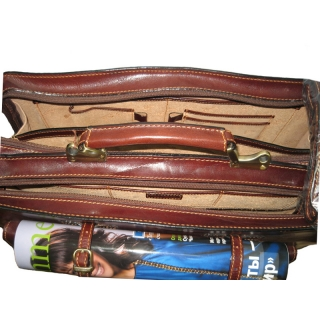 Портфель кожаный Италия АРТ:8021-I