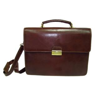 Портфель АРТ: 8851-I кожаный Италия