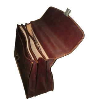 Портфель кожаный Италия АРТ:8009-I