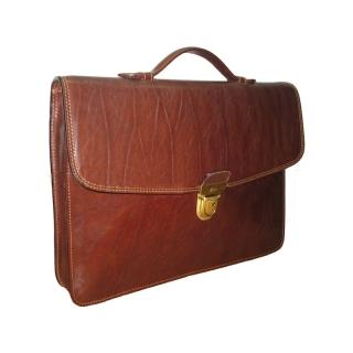 Портфель АРТ: 8091L-I кожаный Италия