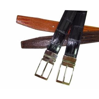 Двусторонний кожаный ремень ART:803 Италия