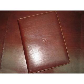 Блокнот АРТ: 1326-S кожаная обложка