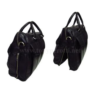 Кожаная сумка АРТ:6060-Cor для обуви