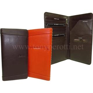 Кожаное портмоне 2106-G тревел