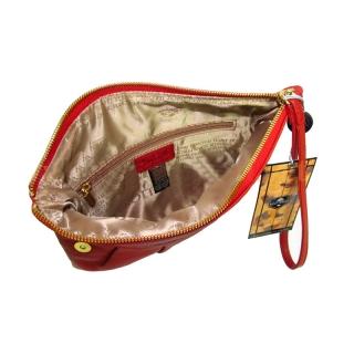 Клатч кожаный Италия АРТ: 9698-Ct
