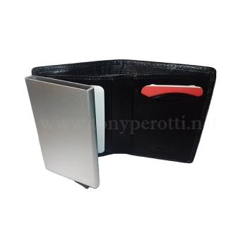 Мини-портмоне АРТ:3758-Nv кожаное