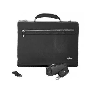 Портфель АРТ: 9124-40-Ct кожаный Италия