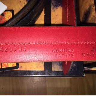 Кожаный ремень ART:420/35 Tony Perotti