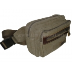 Холщовая сумка на пояс 1012-Ctr