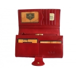 Кожаное портмоне на кнопке 1526-A