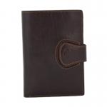 Кожаное портмоне-обложка АРТ:2309-A Италия
