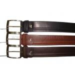 Кожаный ремень ART:5027 джинсовый