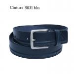 Кожаный ремень ART:5031 джинсовый