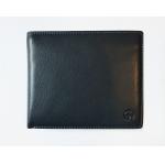 Кожаное портмоне без монетницы