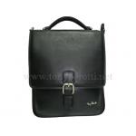 Кожаная вертикальная сумка АРТ: 9766-Ct