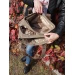 Фирменная холщовая сумка арт:1016-Ctr