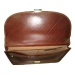 Портфель АРТ: 8091-I кожаный Италия