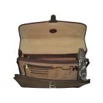 Портфель АРТ: 8092-I кожаный Италия